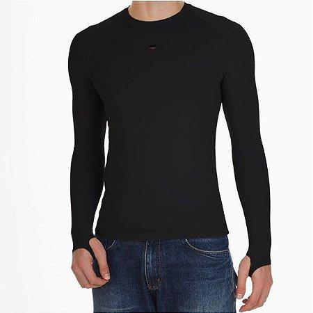 Camiseta Segunda-Pele 2MT - Preta