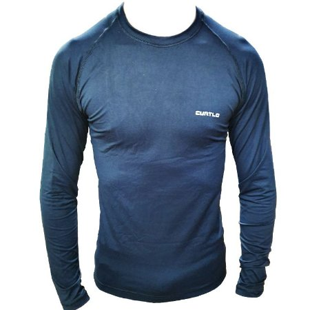 Camiseta Curtlo Segunda Pele Thermo Sense (verão)  - Preta