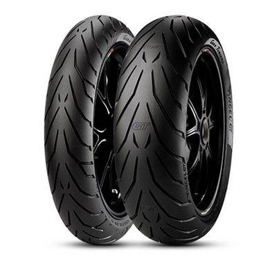 Pneu Pirelli Angel GT 120/70R17 e 160/60R17 (Par)