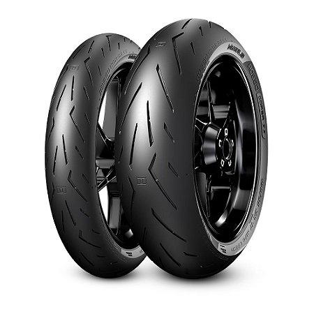 Pneu Pirelli Diablo Rosso Corsa ll 120/70R17 e 200/55R17 (Par)