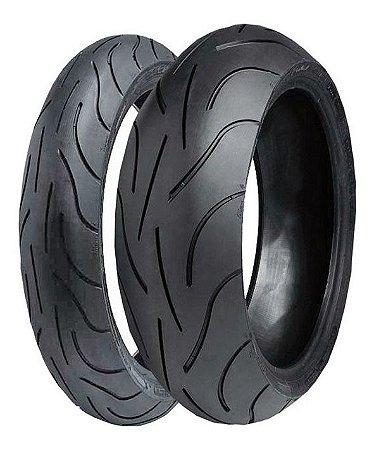 Pneu Michelin Pilot Power 120/70 ZR17 (58w) e 180/55 ZR17 73w ( Par)