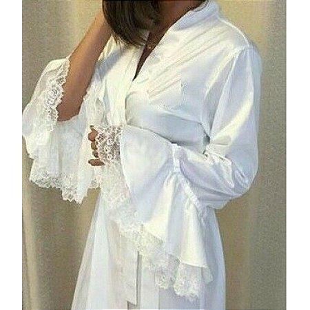 Robe da noiva personalisado