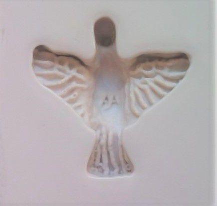 Molde silicone Espírito Santo - Pombo Casamento Batizado