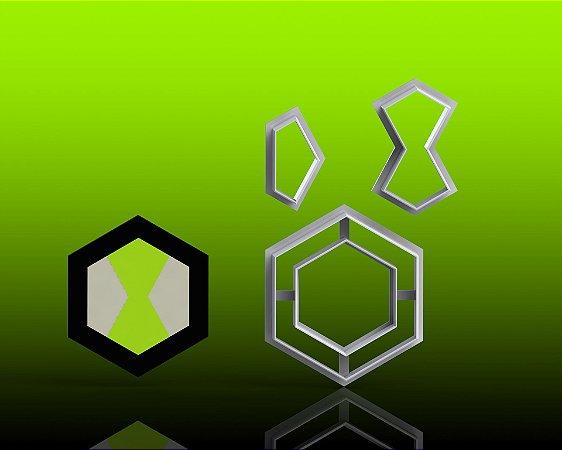 Cortador Ben 10 - Omnitrix Mod 1 Modular