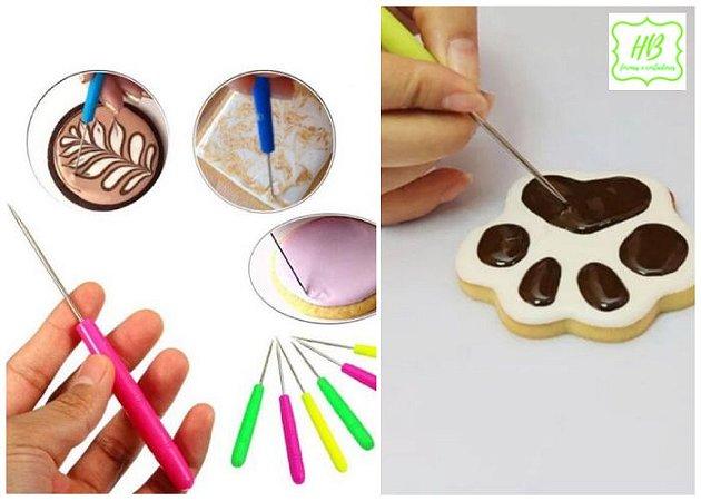 Agulha Fondant para Decoração Biscoitos (Scriber Needle)