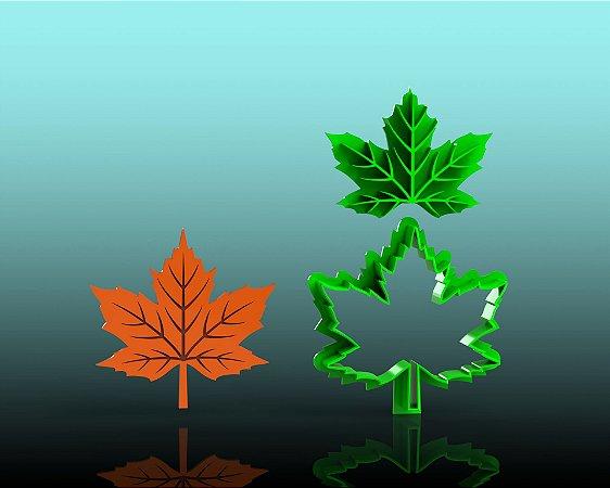 Cortador Folha Canadense ( Outono) Corta e Marca Bosque