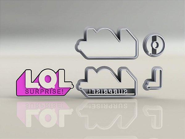 Cortador Kit Lol Surprise  4 modelos Modulares + Logo
