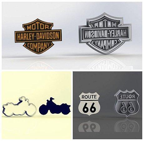 Cortador Kit Moto Harley Daividson