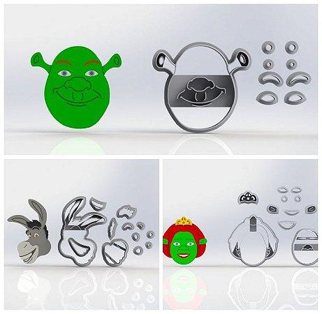Cortador Kit Shrek - 3 Modelos Modulares