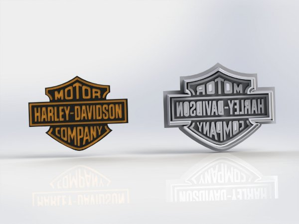 Cortador Logo Harley Daividson