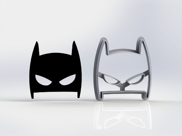Cortador Mascara Batman