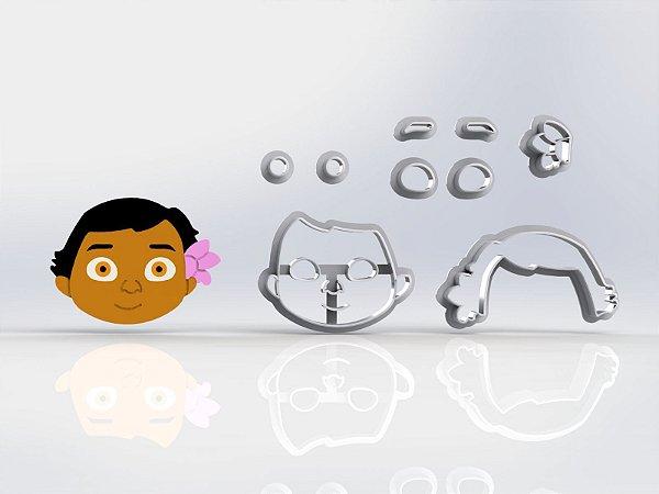 Cortador Moana Baby Modular