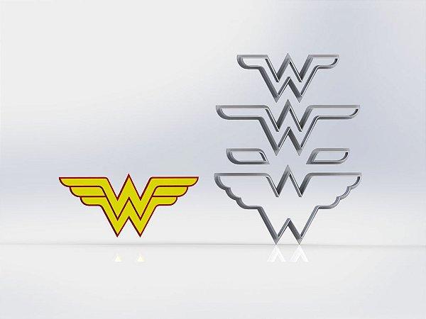 Cortador Heróis - Mulher Maravilha Modular