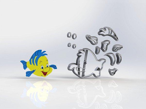 Cortador Pequena Sereia - Linguado Modular