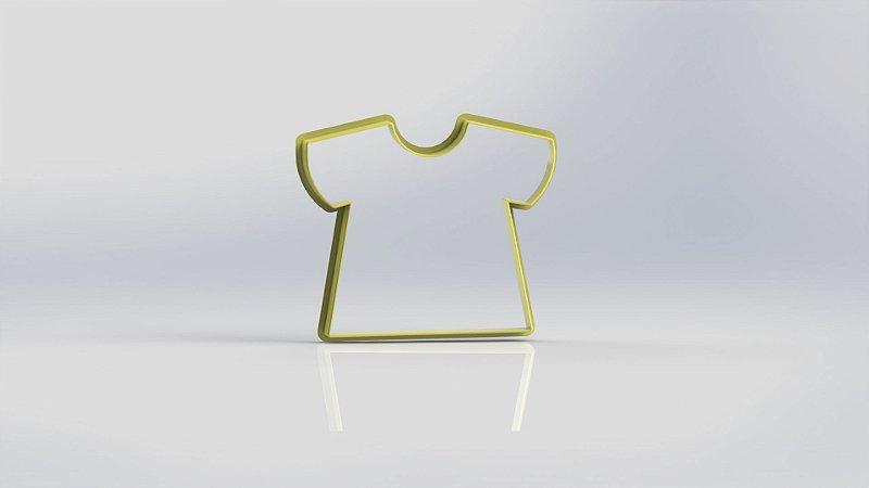 Cortador Camiseta - Mod 3
