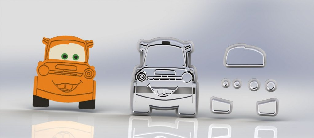 Cortador Carros - Mater Modular