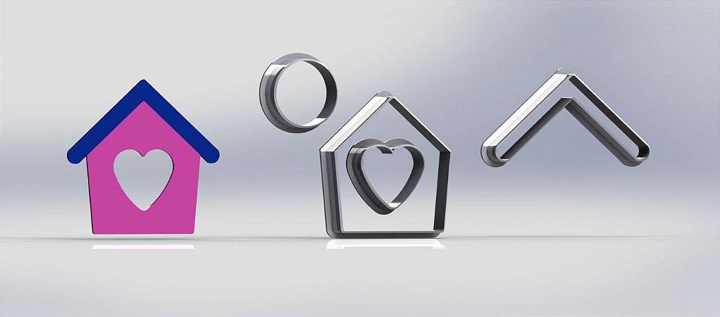 Cortador Casinha Casa Modular