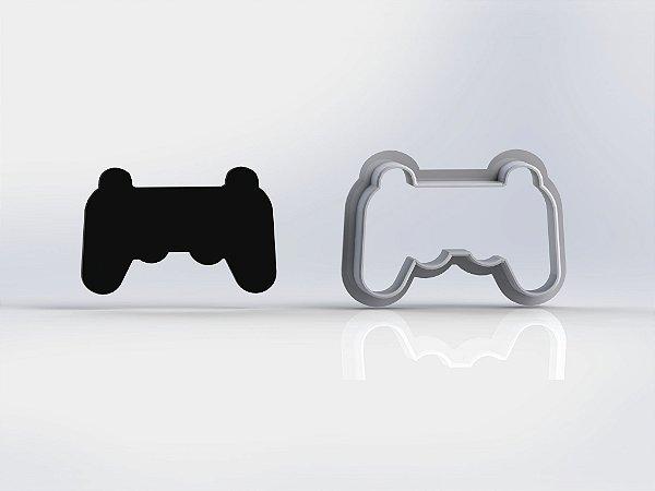 Cortador Controle Playstation Contorno