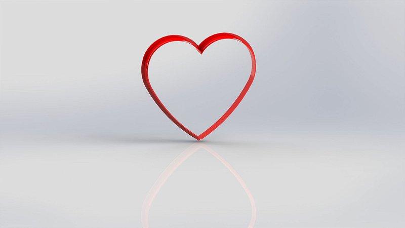 Cortador Coração Contorno