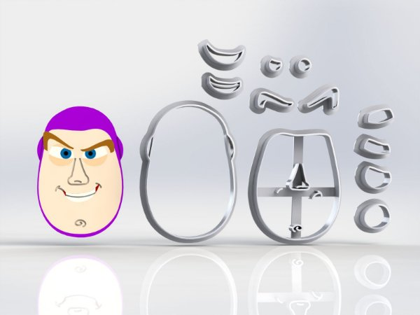 Cortador Toy Story Buzz Lightyear Modular