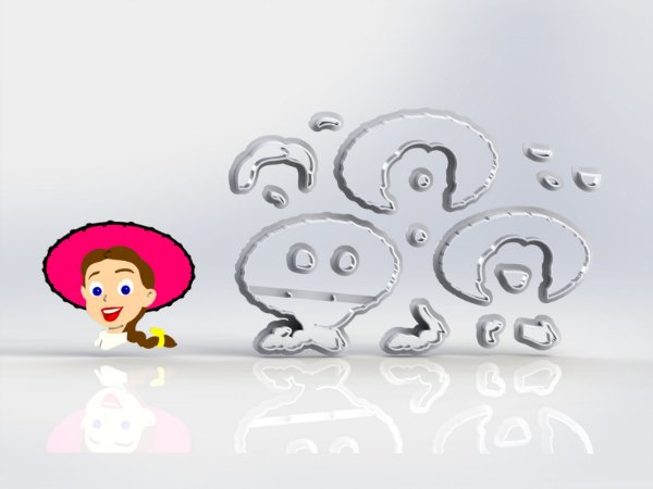 Cortador Toy Story - Jessie Modular