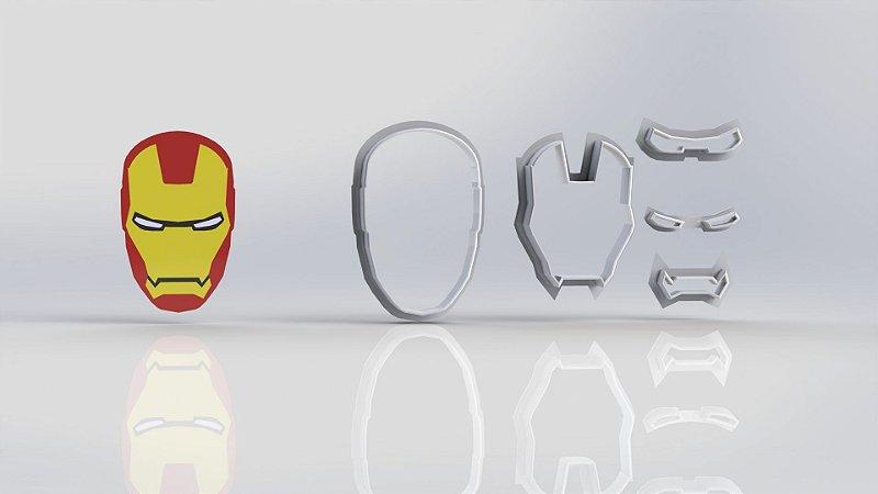 Cortador Heróis - Homem de Ferro Modular