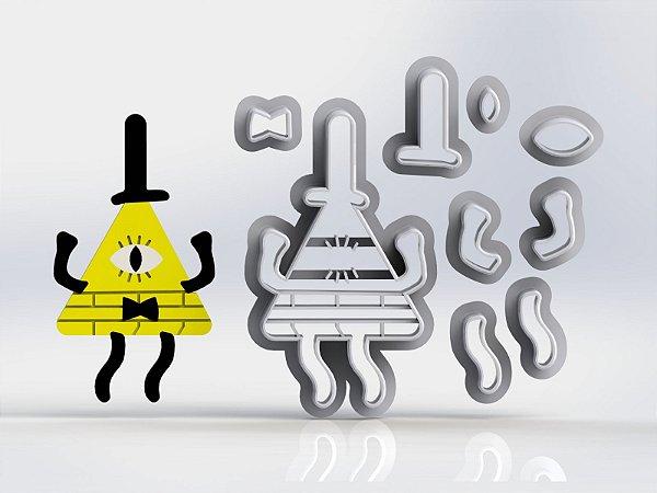 Cortador Gravity Falls - Bill Cipher