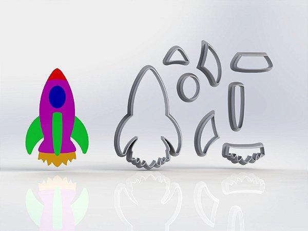 Cortador Toy Story - Foguete Modular
