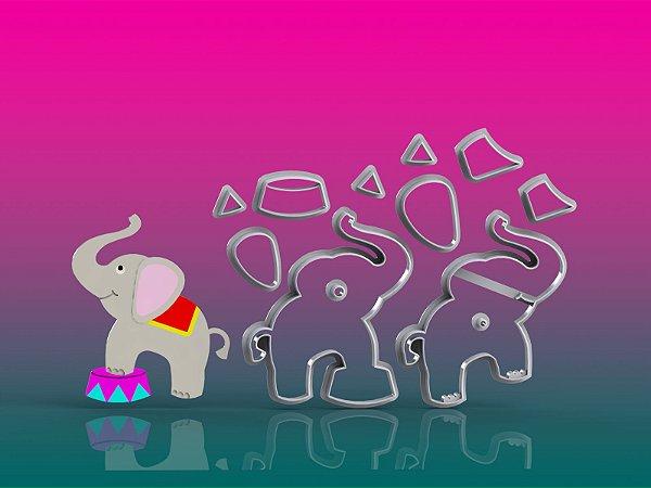Cortador Circo - Elefante Modular
