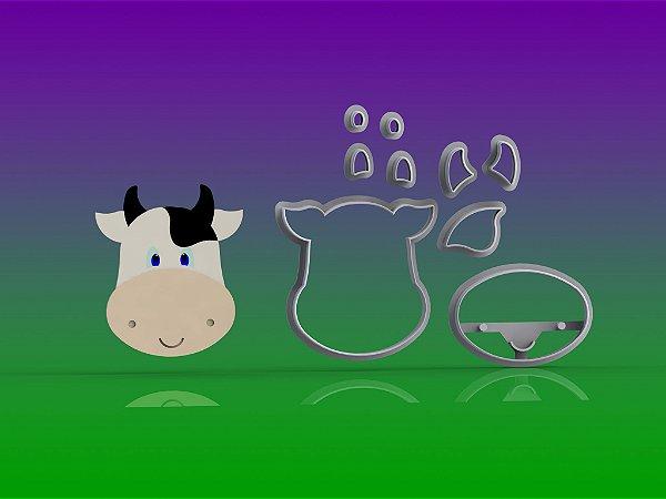 Cortador Fazendinha - Vaca Modular Mod 2