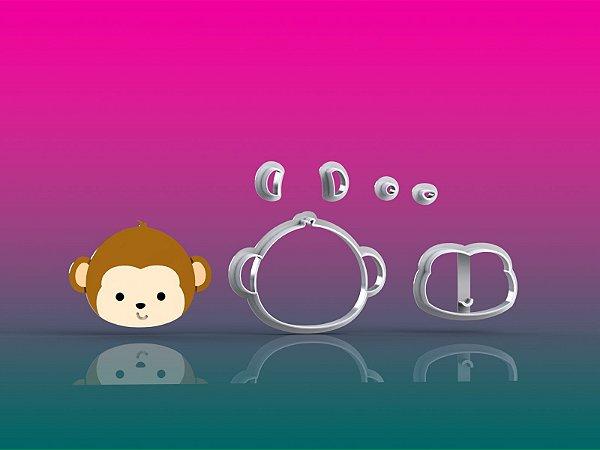 Cortador Circo - Macaco Rosto Modular