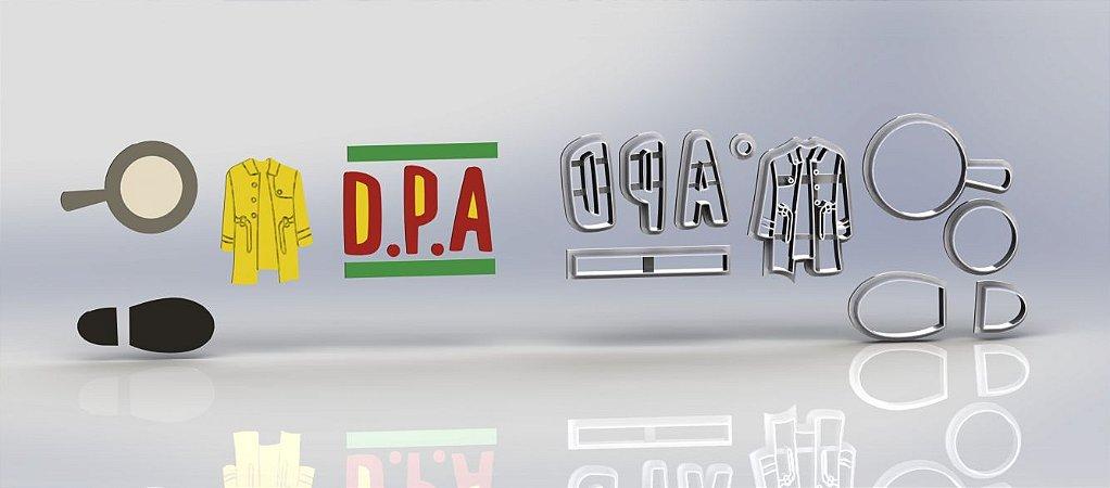 Cortador Kit D.P.A. Detetives do Prédio Azul - DPA