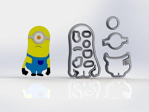 Cortador Minions 01 Personagem Mod 3 Modular