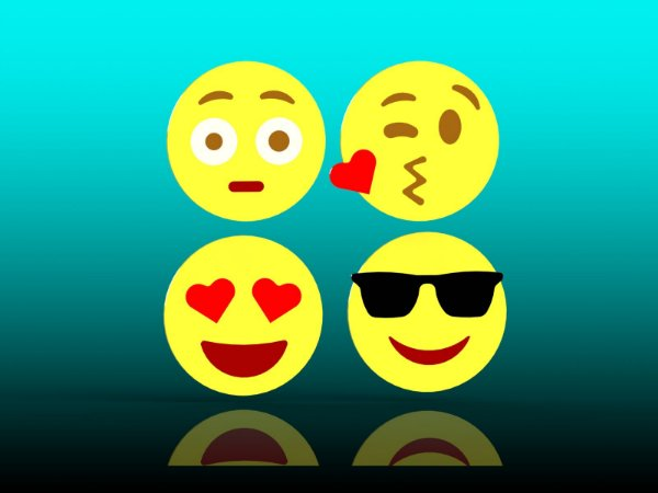 Cortador Kit Emojis - 4 Carinhas
