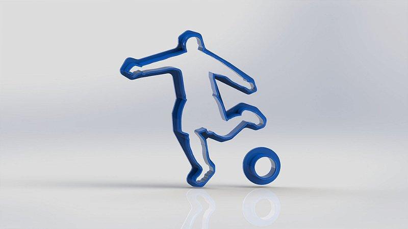 Cortador Jogador de Futebol