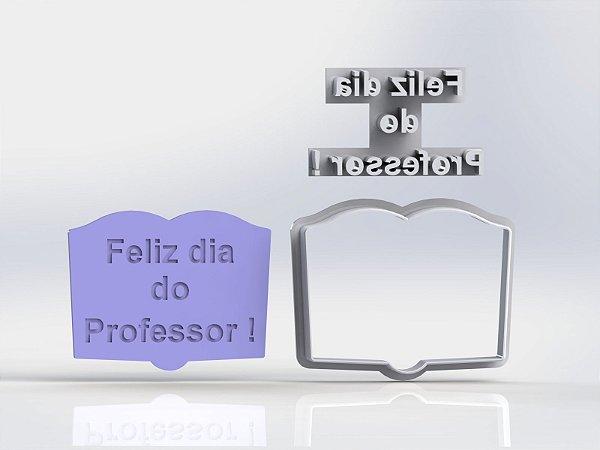 Cortador Livro Dia dos Professores