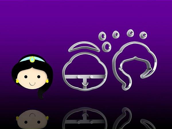 Cortador Aladdin (Aladin) - Princesa Jasmine Modular