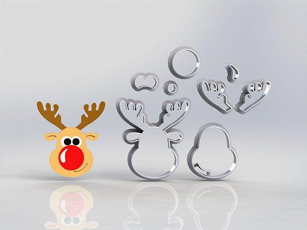 Cortador Natal Alce (Rena) Modular