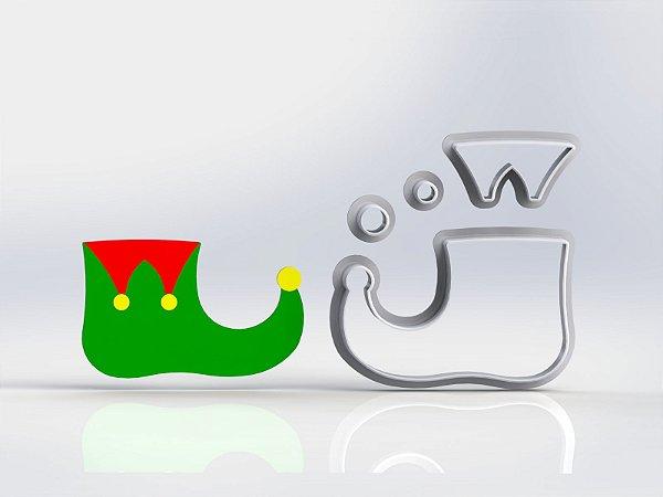 Cortador Natal Sapato de Duende Modular