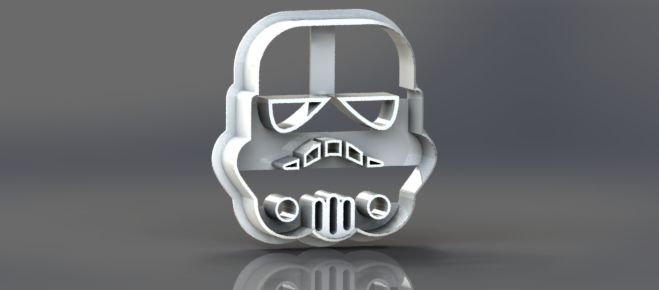 Cortador Star Wars - STORM TROPER