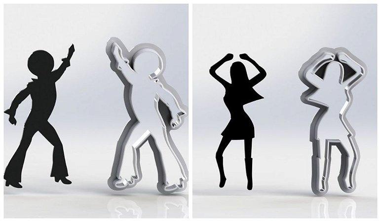 Cortador Kit Dançarinas