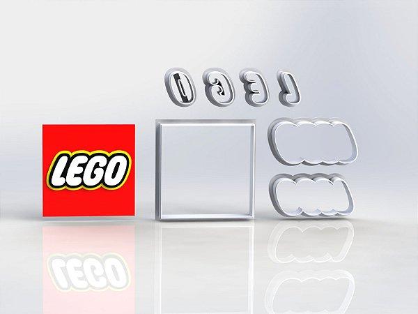Cortador Lego - Logo Modular