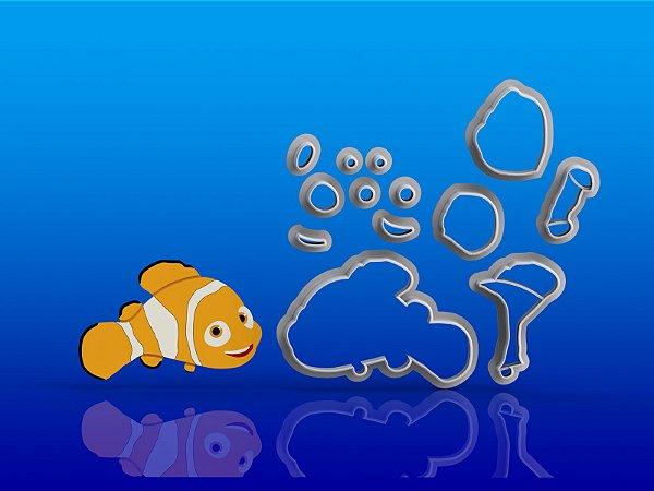 Cortador Procurando Nemo - Peixe Nemo
