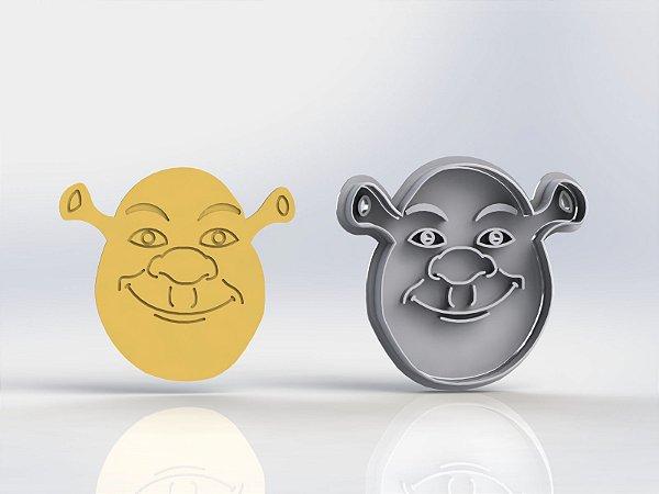 Cortador Shrek  (cortador e marcador)