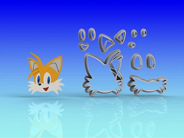 Cortador Sonic - Tails modular