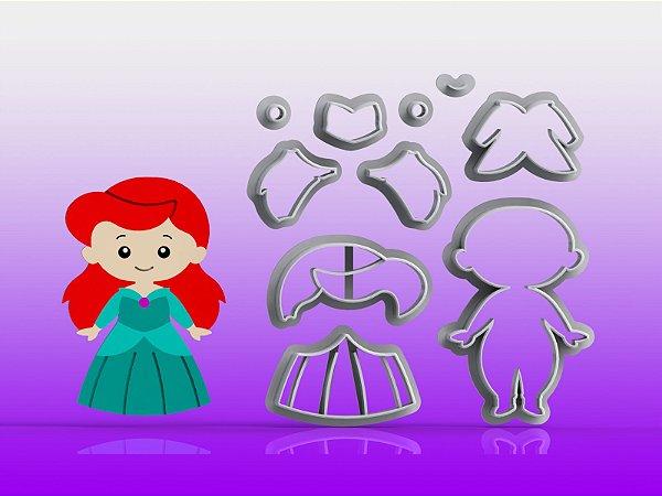 Cortador Princesa Ariel Modular