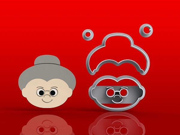 Cortador Chapeuzinho Vermelho - Vovozinha Modular