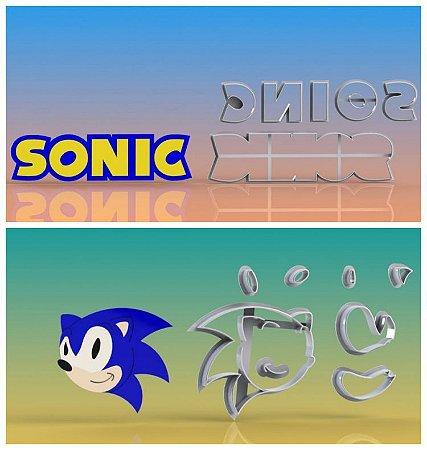 Cortador Sonic e Logo Modulares