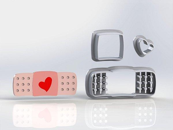 Cortador Enfermagem - Band aid Modular ( Cortador e Marcador)