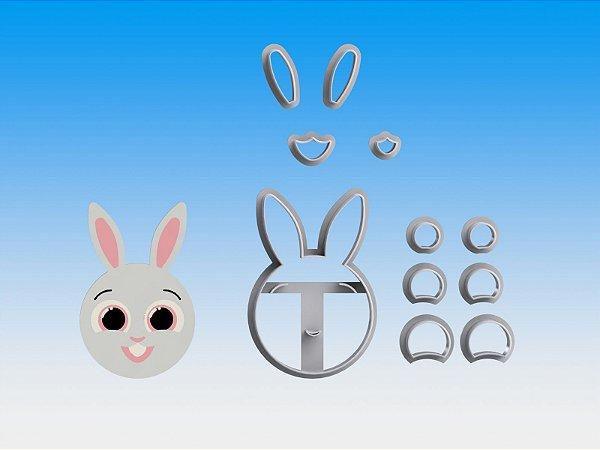 Cortador Bolofofos - Coelho Bunny